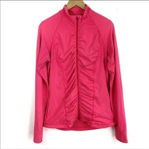 Victoria's Secret Knockout Ruched Pink Jacket